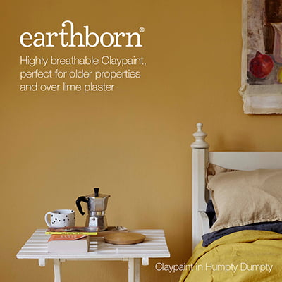 Earthborn Paint, Perfect for Lime Plaster