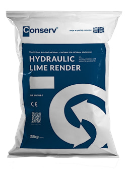 Hydraulic Lime Render Base (25kg)