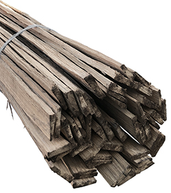 Riven Oak Laths (4ft Lengths, Bundle of 12)